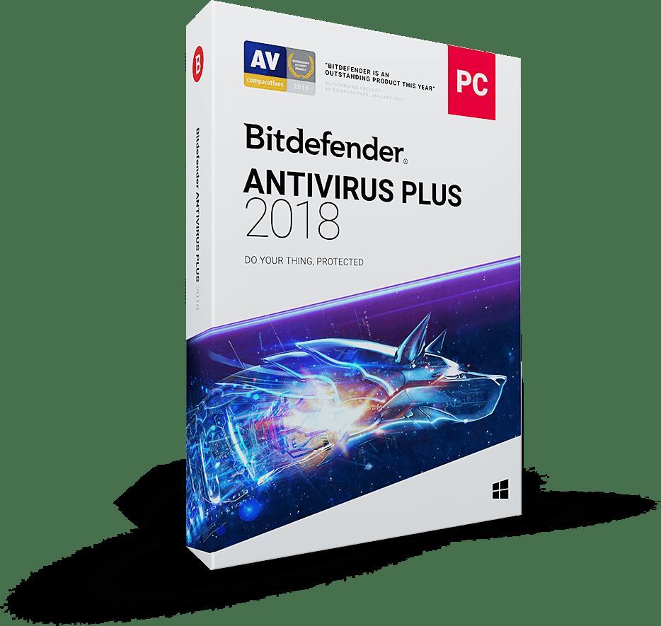مقایسه محصولات بیت دیفندر-بیت دیفندر آنتی ویروس پلاس 2018