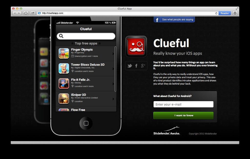 بیت دیفندر حفظ حریم شخصی برای ios- Clueful