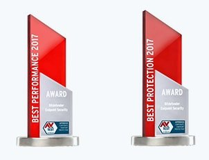 2017 Best Performance and Best Protection AV Test Awards