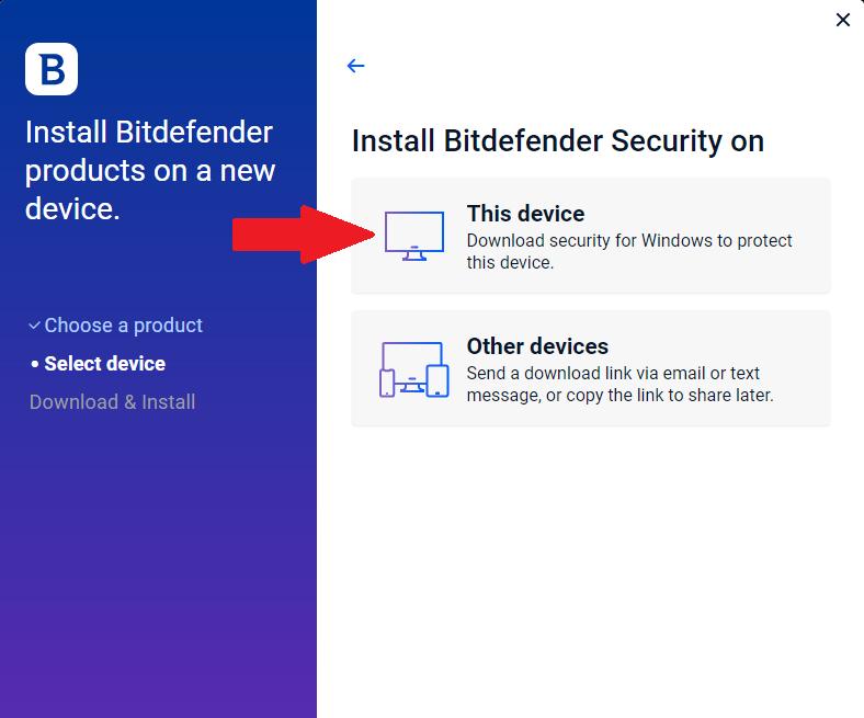 راهنمای نصب بیت دیفندر برای ویندوز3
