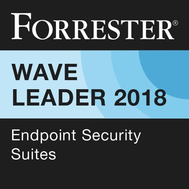 Forrester Wave Leader 2018 - Endpoint Security Suites